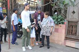 family day out akshay twinkle and children aarav nitara snapped