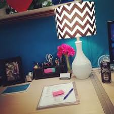 cute lamp in the corner matches my wrapping paper wallpaper