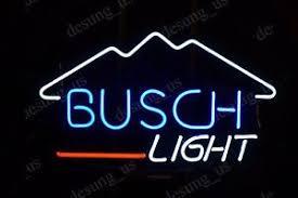 busch light neon sign new busch light mountain beer man cave neon sign 17 x14 ship from