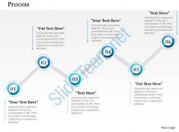 1014 business plan six steps process line powerpoint presentation