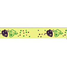 mardi gras ribbon gras ribbon