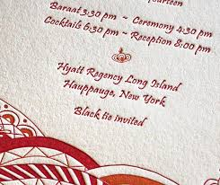 mehndi card wording specialty invitations for a mehndi party letterpress wedding