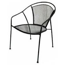 Steel Bistro Chairs Uptown Collection Patio Bistro Chair Steel Mesh Model Wi 105