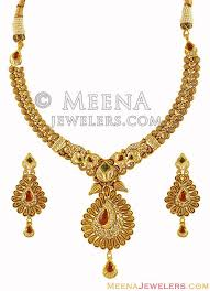 antique jewelry necklace sets images Exclusive antique gold necklace set stan16682 22k gold jpg