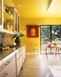 kitchen yellow kitchen wall colors adding bold flavor with color in three modern kitchens kitchen