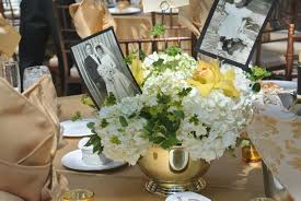 50th anniversary party ideas 50 wedding anniversary decorations ideas flowers for 50th wedding
