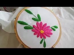 Fish Bone Stitch Embroidery Tutorials Embroidery Raised Fishbone Stitch Variation