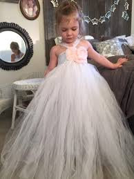 custom order tutu flower junior bridesmaid tutu dress