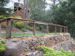 Backyard  Backyard Fence Designs And Styles Fencing Photos - Backyard fence design
