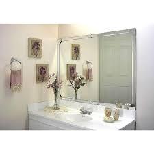 bathroom mirror frames beautiful and elegant mirror frame kits