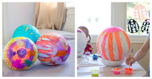 paper mache easter eggs papier mache easter eggs how to make easter eggs