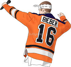 bieber purpose tour hockey by outlyning designs biiieeeeebzzzz
