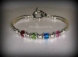 mothers bracelets with birthstones birthstone bracelet mothers day gift custom bracelets