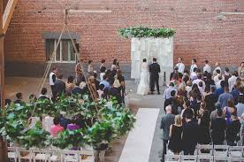 backdrop wedding korea los angeles warehouse wedding green wedding