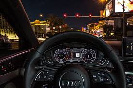 All Dashboard Lights Come On While Driving This Audi Knows When The Light U0027s Going To Change The Verge
