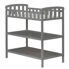Changing Table Portable Emily Baby Changing Table 2 Shelves Solid Wood Minimalist Portable