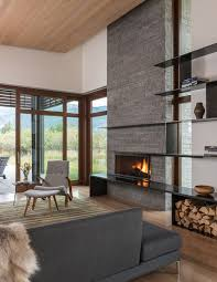 Amazing Fireplace Stone Panels Small by Best 25 Modern Stone Fireplace Ideas On Pinterest Stone