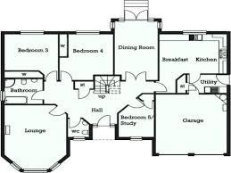 house with 5 bedrooms detached building plans duplex home floor plan 4 2 bedroom semi
