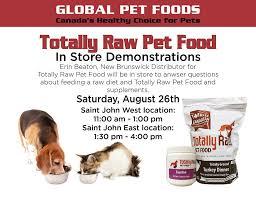 totally raw natural dog food inc new brunswick division posts