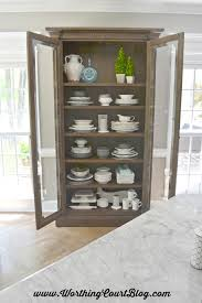 Display Dishes In China Cabinet A Gorgeous Remodeled Kitchen Details And Resources Worthing Court