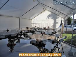 table and tent rentals 20ft x 30ft tent