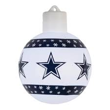 dallas cowboys lighted christmas ornament christmas tree shops