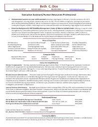 sample hr assistant resume human resources assistant resume