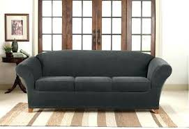 grey twill sofa slipcover furniture 2 seat sofa slipcover modest on furniture in sure fit