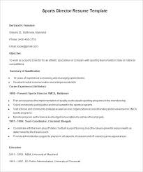 Sports Resume Examples by Resume Templates U2013 127 Free Samples Examples U0026 Format Download