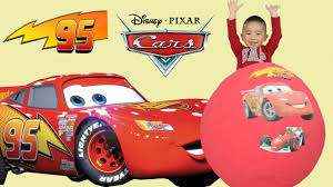 100 disney pixar cars toys giant egg surprise opening lightning