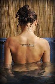 simple s back quote tattoomagz