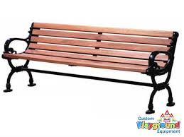 iron park benches victorian style wood bench 6 mahogany wood
