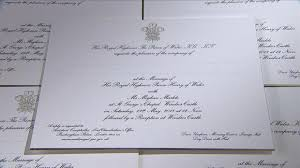 royal wedding invitation prince harry and meghan markle s official wedding invitations are