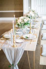 Gray And Gold Elegant Mansion Wedding Inspiration Elizabeth Anne Designs The