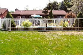 ornamental aluminum fence backyard fence company