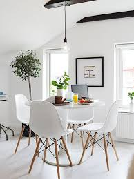 Eames Chair Dining Table De Pequenos Ambientes Interiors Room And Dinner Room