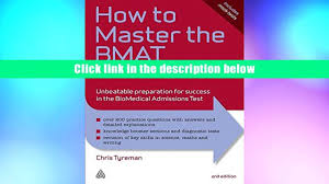 audiobook how to master the bmat unbeatable preparation for