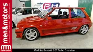 renault 5 modified renault 5 gt turbo overview youtube