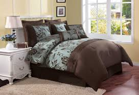 teal turquoise and brown bedding bedroom decor ideas with fashions originalviews