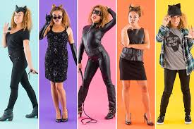 cat suits for halloween 5 easy catwoman costumes for halloween brit co