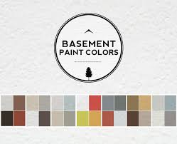 basement paint color schemes basement gallery