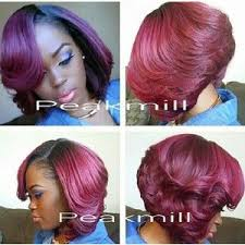 Sew In Bob Hairstyle Best 20 Short Sew In Hairstyles Ideas On Pinterest Weave Bob
