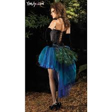 Halloween Peacock Costume Deluxe Peacock Princess Costume Deluxe Peacock Costume Womens