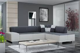 funiture living room couches in minimalist grey theme with