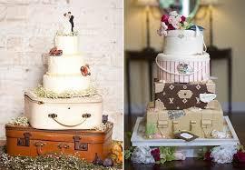suitcase cakes vintage style cake geek magazine