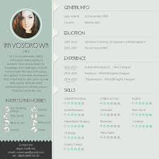 Amazing Resumes Examples Mint Cv Design On The Links Below You Can Get Free Psd Template