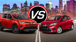 lexus nx300h vs rav4 hybrid 2016 toyota rav4 vs yaris spec comparison youtube