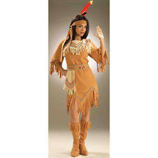 Womens Pocahontas Halloween Costumes Native American Costume Ebay