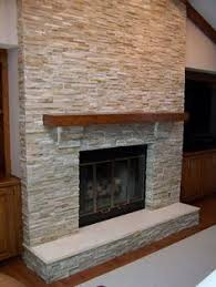 Amazing Fireplace Stone Panels Small by Stack Stone Fireplaces With Plasma Tv Mounted For The Home