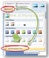 rumus membuat latar belakang cara membuat gambar transparan tanpa warna background di ms word